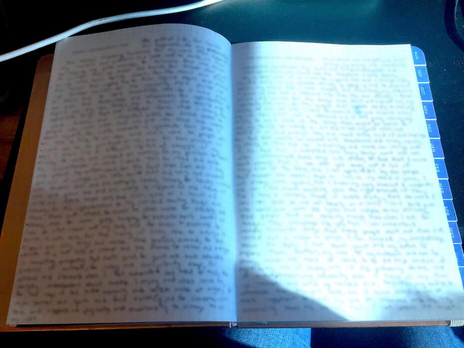 My Infinite Agenda journaling