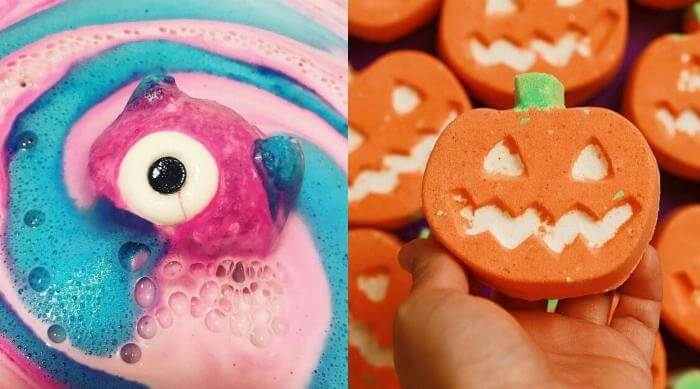 lush bath bombs halloween