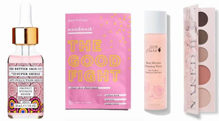 breast cancer awareness beauty brands
