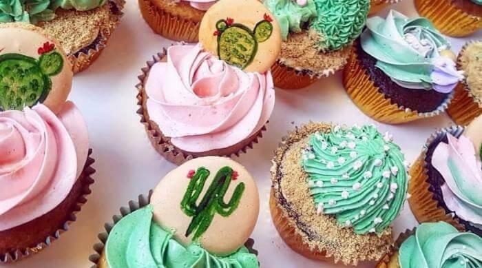 cactus cupcakes desserts