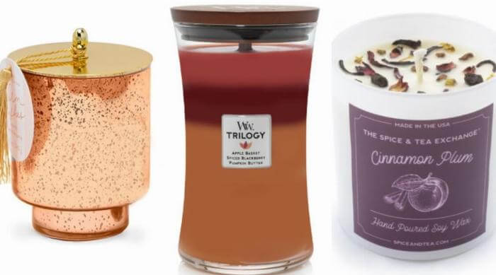 fall candle roundup