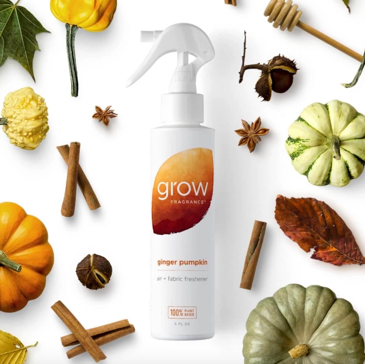 grow fragrance pumpkin ginger