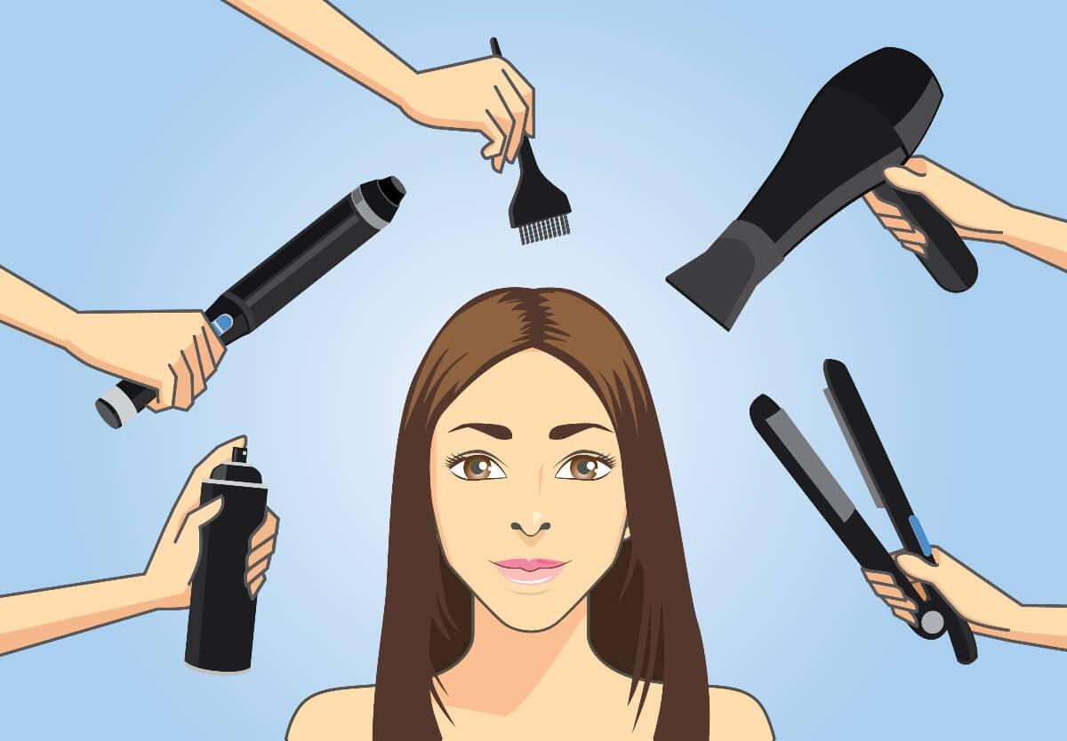 hot tools illustration