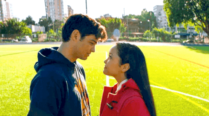 TO ALL THE BOYS I'VE LOVED BEFORE: LARA JEAN AND PETER