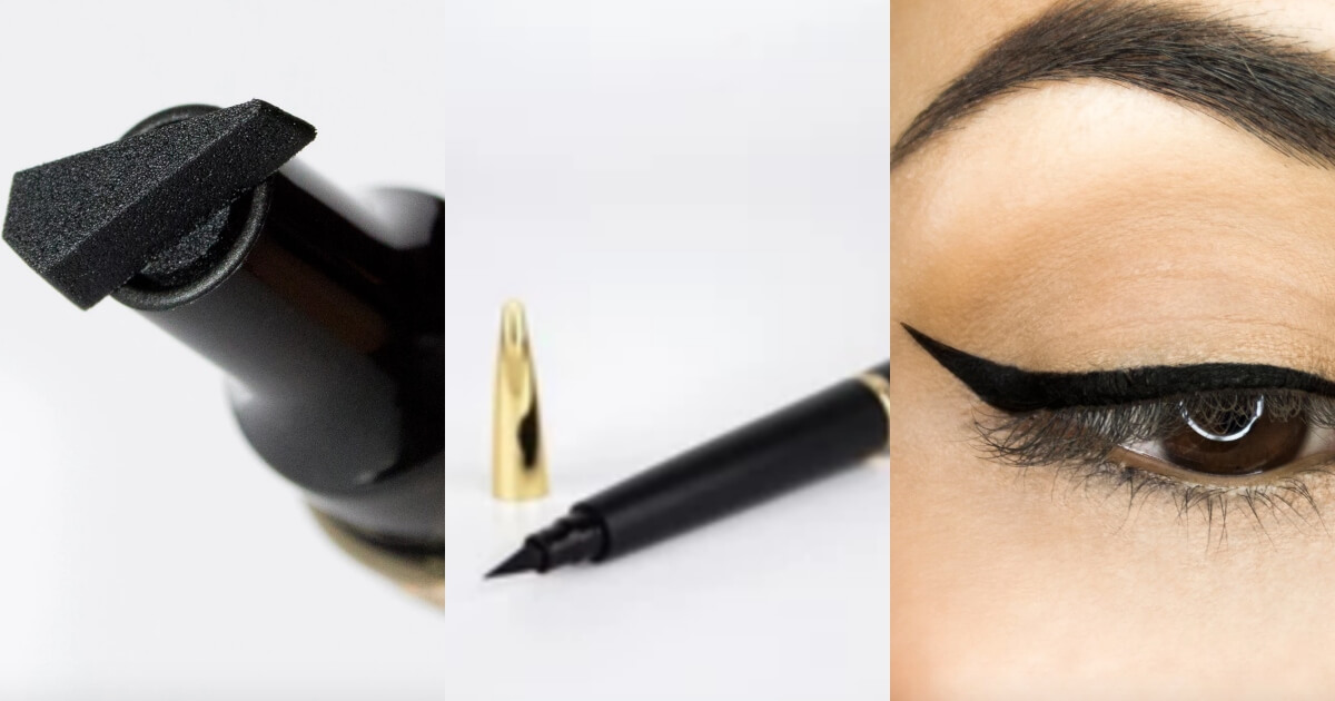 lyda beauty cat eye stamp eyeliner