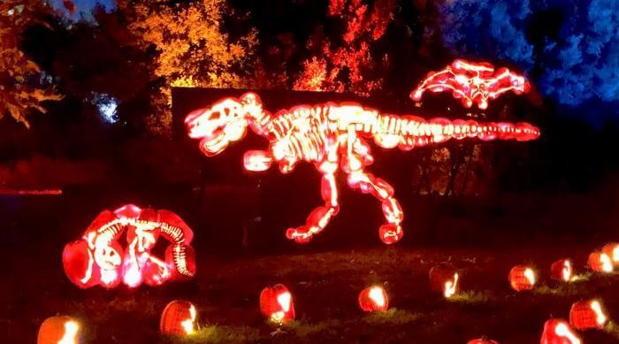 Nights of the Jack: T-Rex Jack o' Lanterns