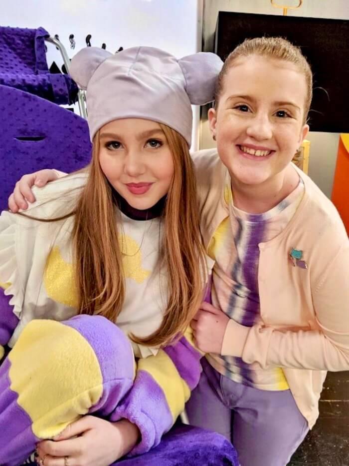 Reece Caddell and Ella Anderson