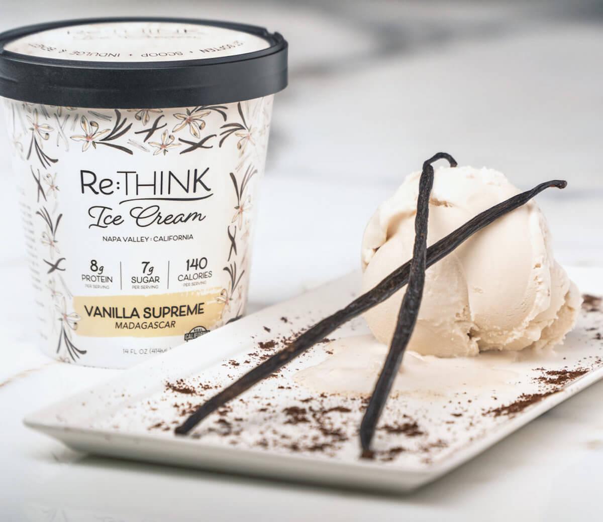 Re:Think ice cream - vanilla