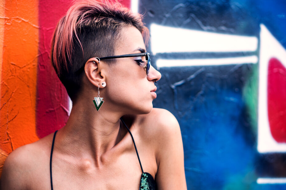 shutterstock-woman-with-undercut-and-piercings-102919