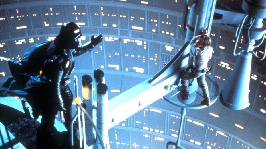 """Star Wars: The Empire Strikes Back """"I am your father"""""""