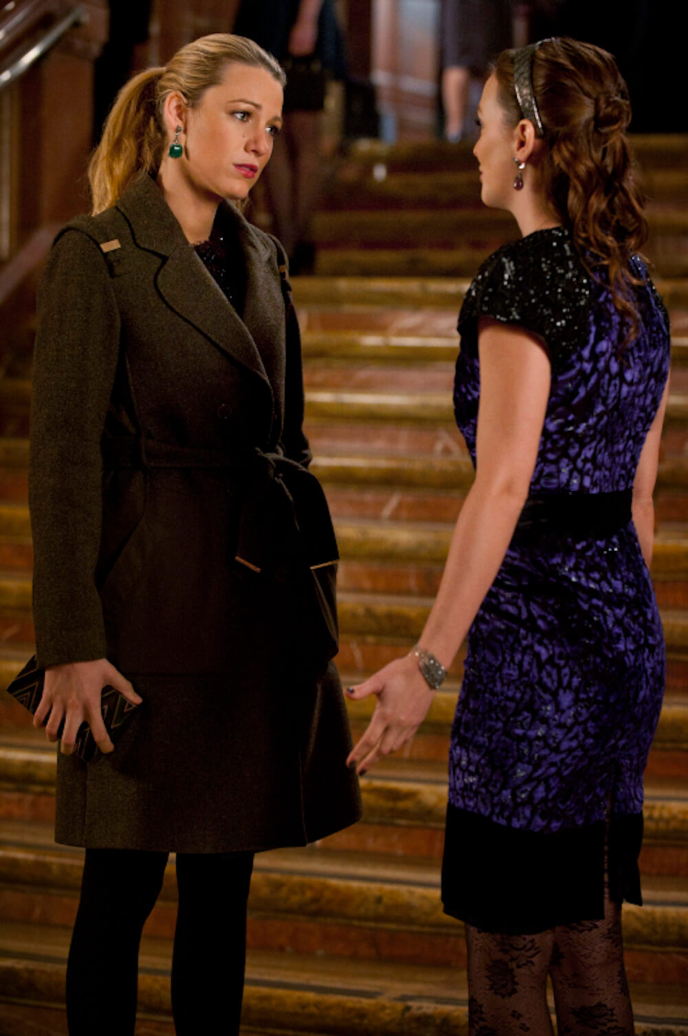 Blair and Serena Argue on Gossip Girl