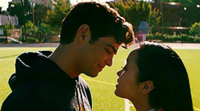 to all the boys i loved before kissing
