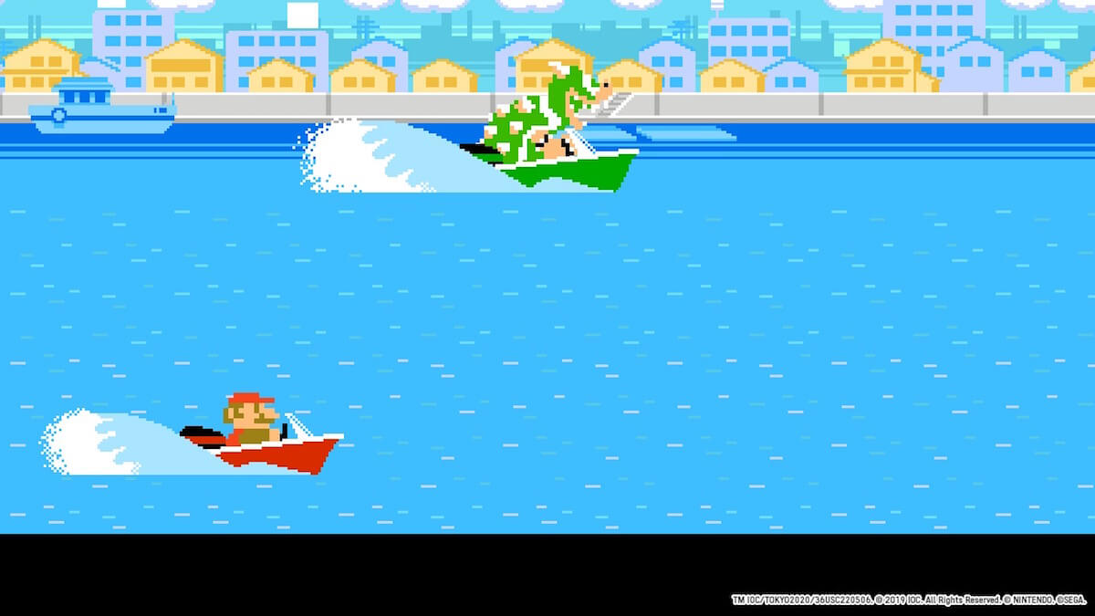 Mario and Sonic at the Olympic Games Tokyo 2020: Boat race