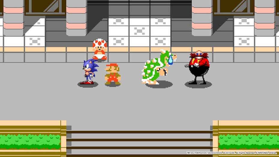 Mario and Sonic at the Olympic Games Tokyo 2020: 1964 Bowser and Eggman