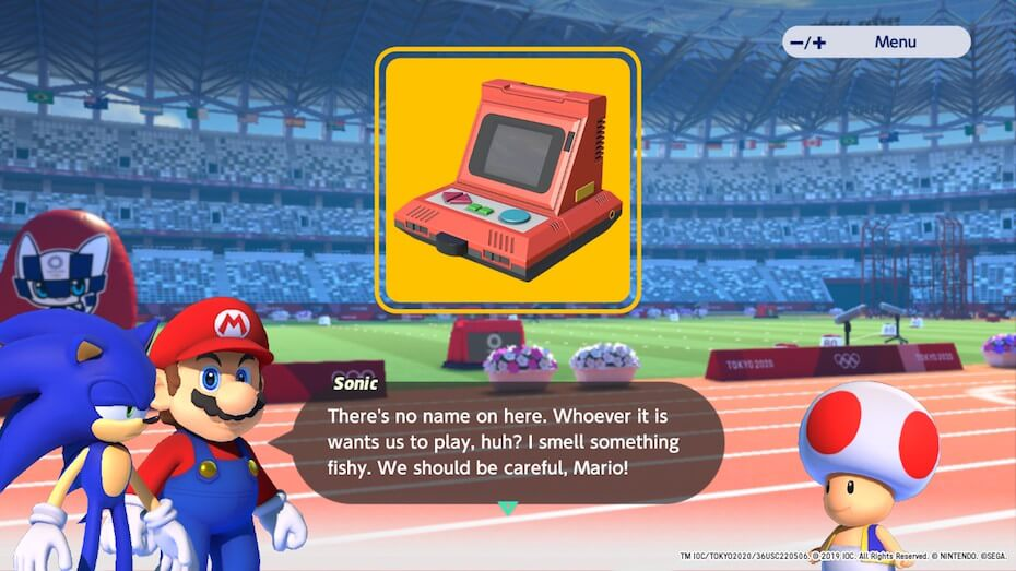 Mario and Sonic at the Olympic Games Tokyo 2020: Video Game