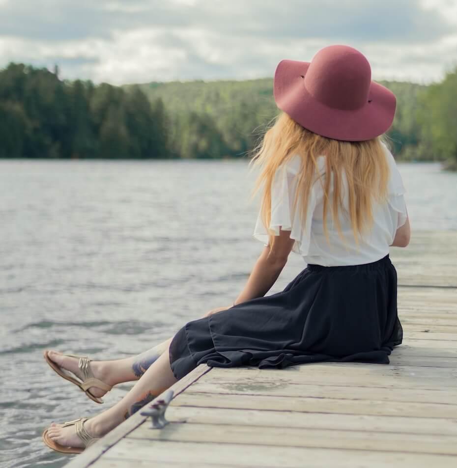 unsplash-woman-on-dock-daydream-looking-at-lake-112619
