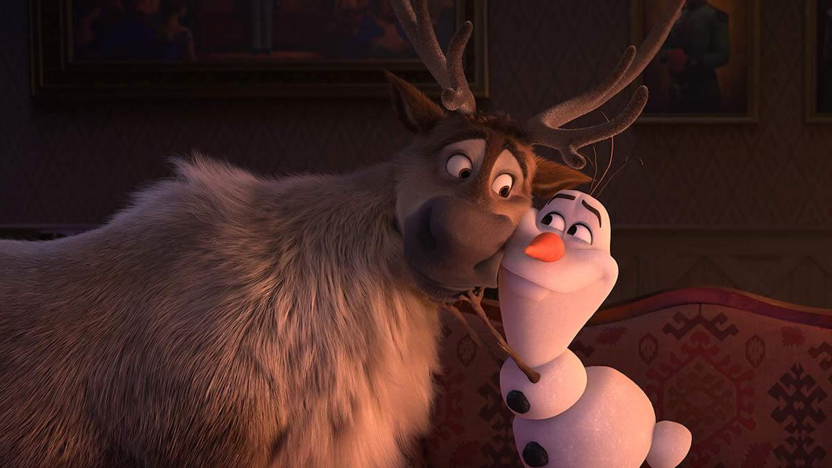 Sven and Olaf in Frozen II