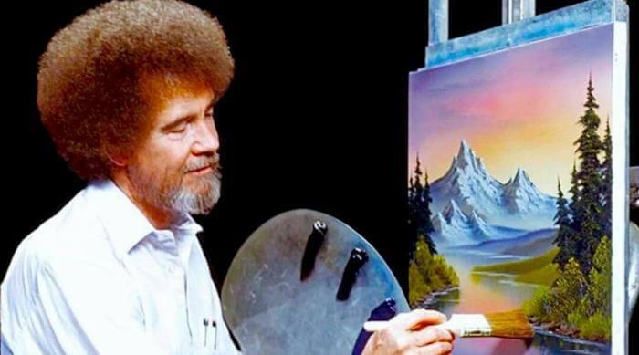 Instagram: Bob Ross - The Joy of Painting still