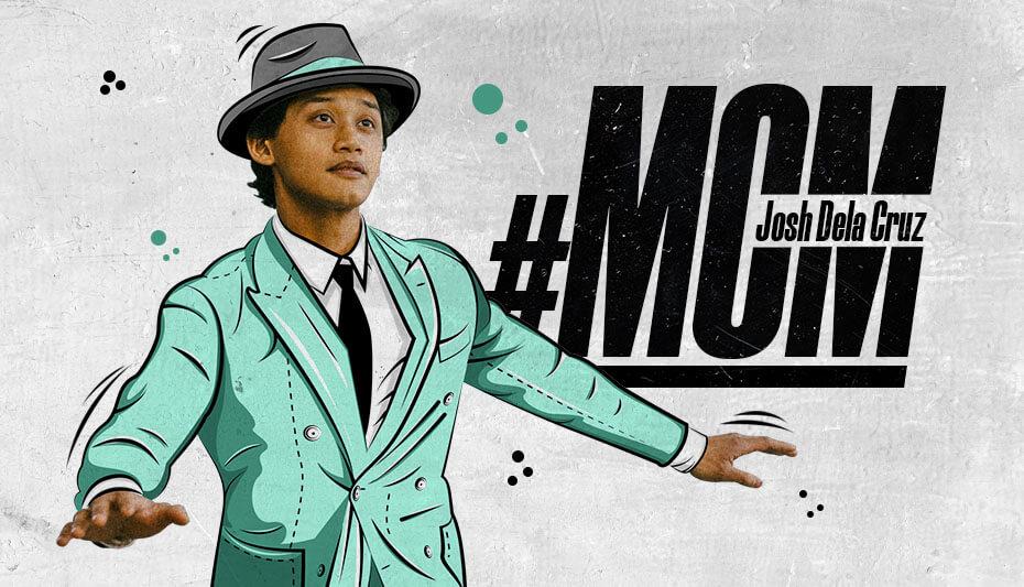 Josh Dela Cruz Man Crush Monday artwork