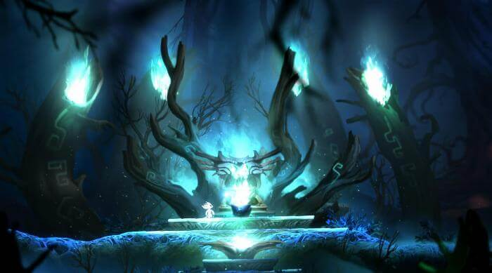 Ori and the Blind Forest gameplay