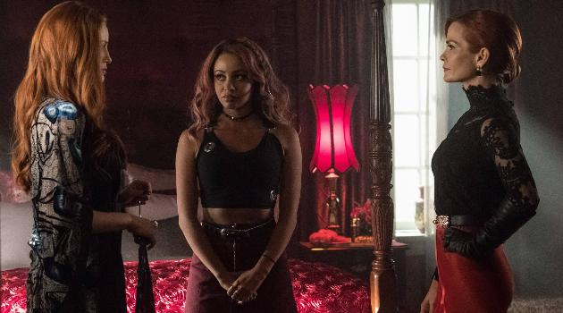 Riverdale - Cheryl and Penlope Blossom with Toni