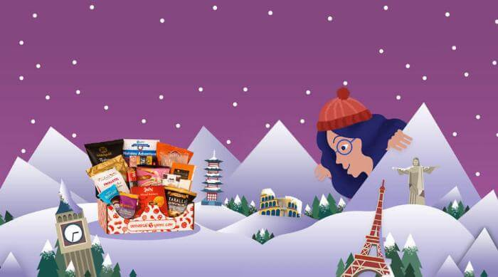Universal Yums Holiday Box artwork