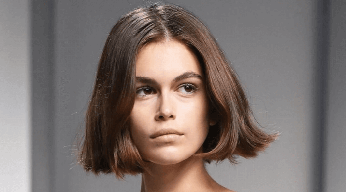 kaia gerber hair cut