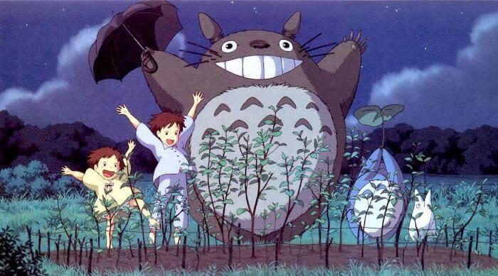 My Neighbor Totoro: Mei, Satsuki and Totoro dance for crops