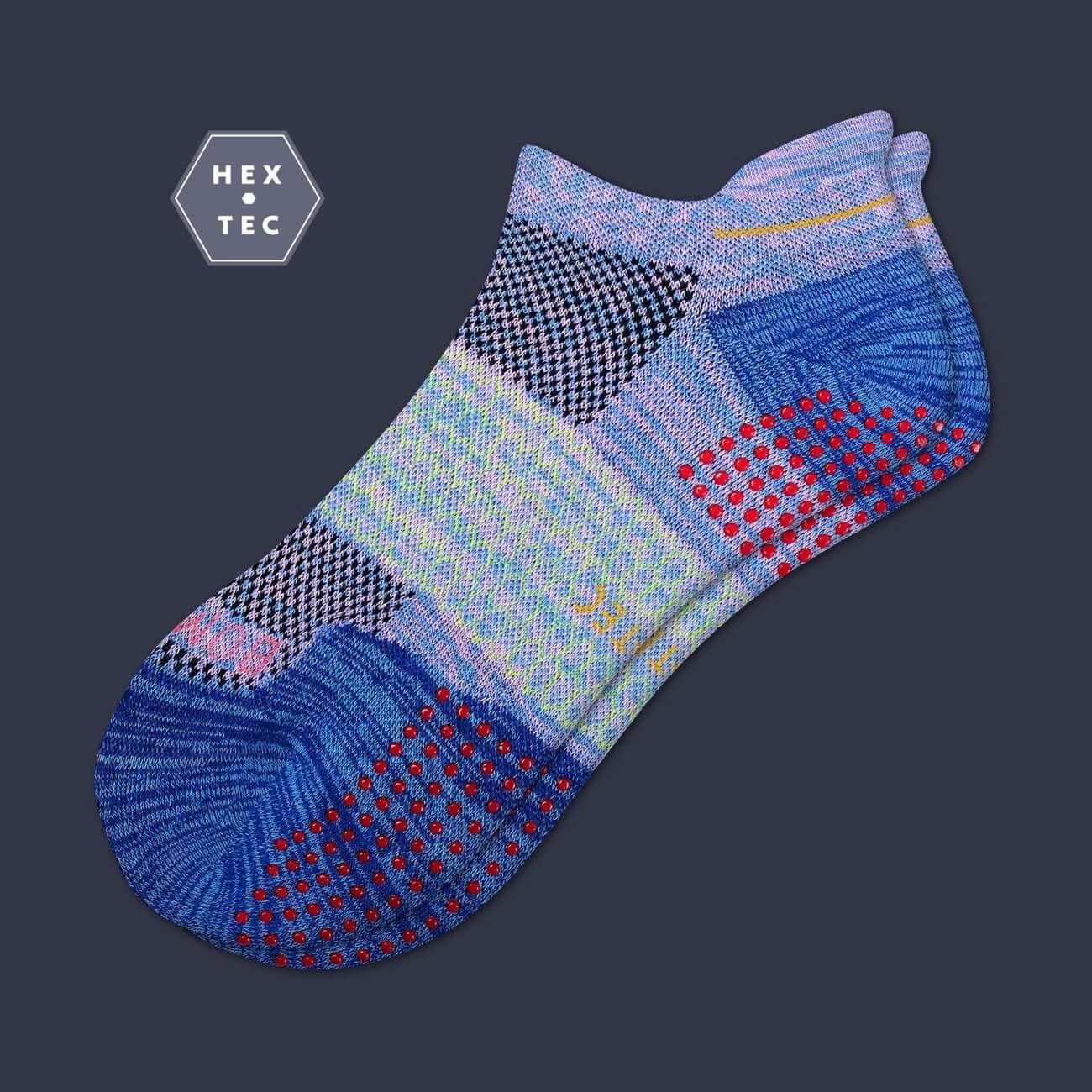 Womens Performance Gripper Ankle Sock