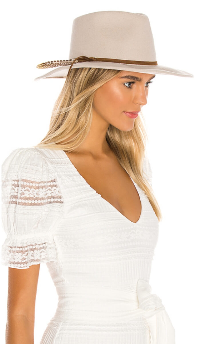 cute structured hat