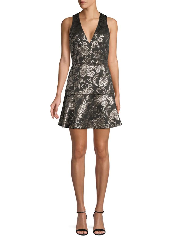 alice-and-olivia-floral-jacquard-mini-dress-021920