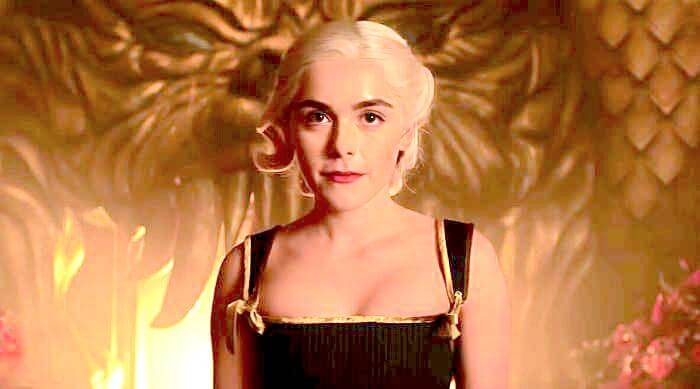 Chilling Adventures of Sabrina: Past Sabrina ruling as Queen of hell