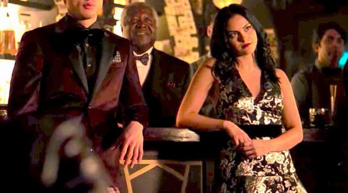 Riverdale: Reggie and Veronica standing in Fire Walk With Me
