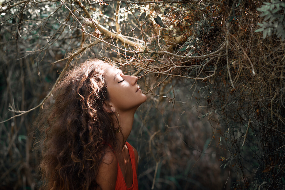 shutterstock-dreamy-woman-in-forest-022520