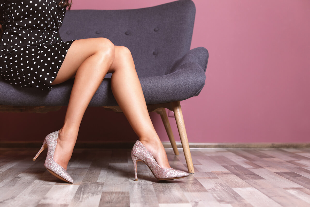 shutterstock-super-glittery-high-heels-woman-on-chair