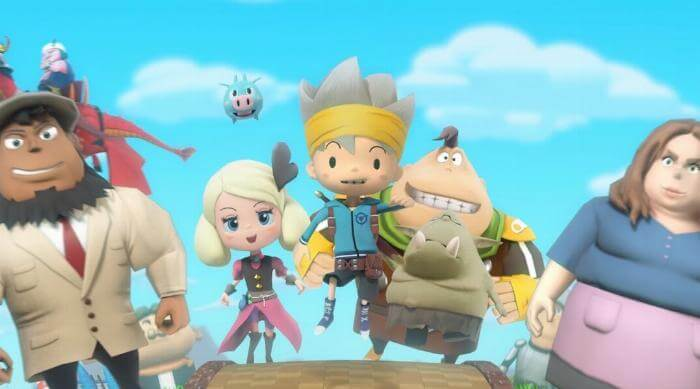 Snack World: The Dungeon Crawl: Main theme song music video