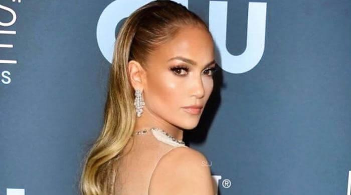 Jennifer Lopez on a Red Carpet