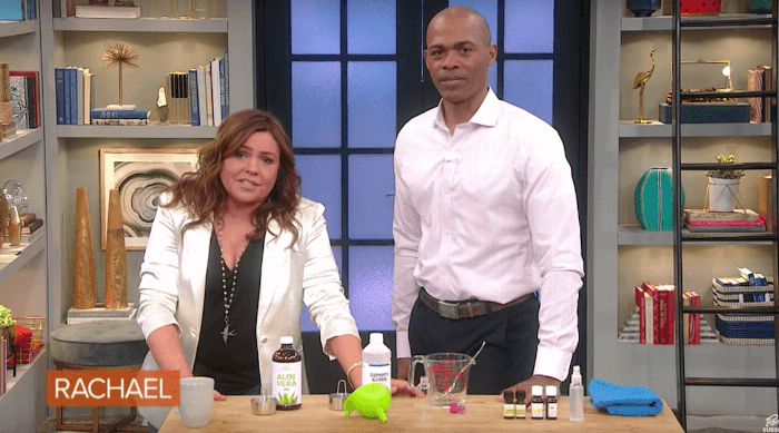 The Rachael Ray Show Hand Sanitizer Segment