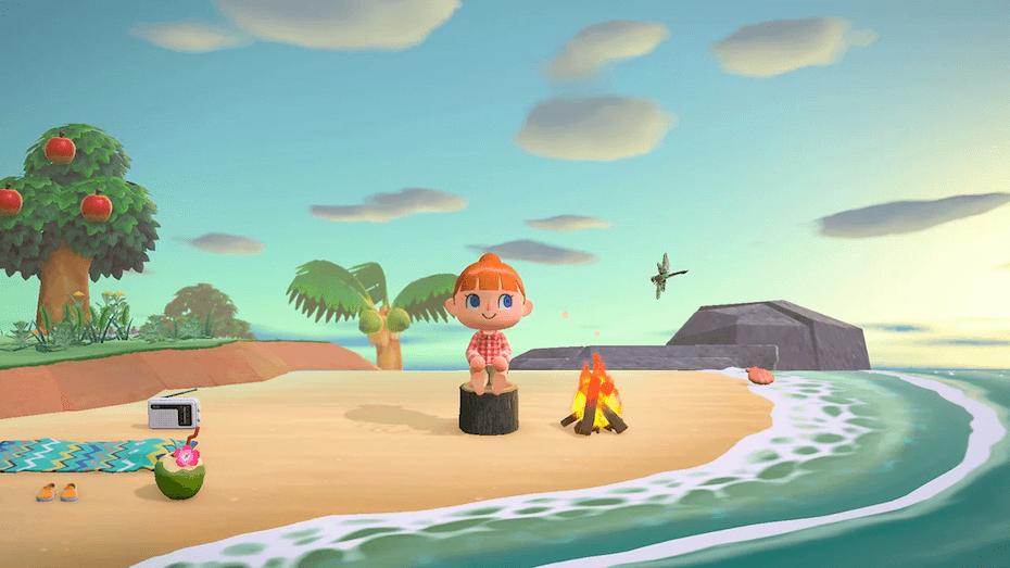 animal-crossing-new-horizons-sitting-log-island-031720
