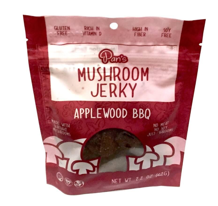 Pan's Mushroom Jerky Applewood BBQ flavor