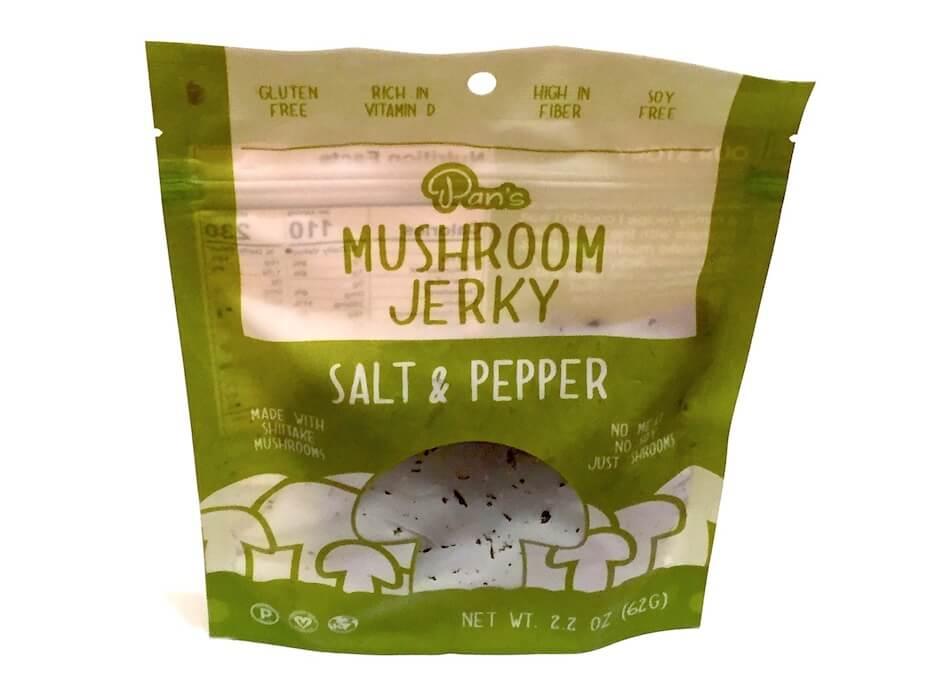 Pan's Muchroom Jerky Salt and Pepper Flavor