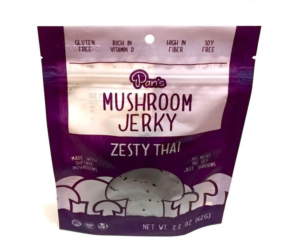 Pan's Mushroom Jerky Zesty Thai Flavor