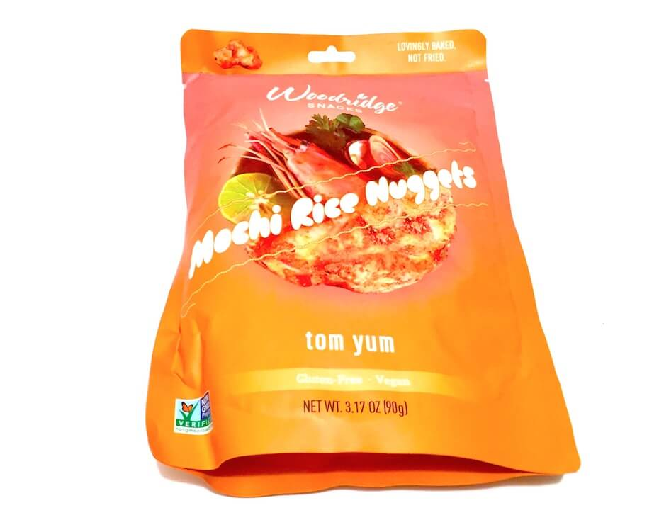 Woodridge Snacks Tom Yum Mochi Rice Nuggets