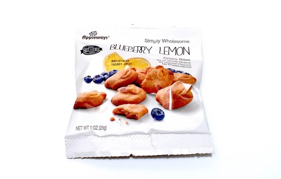 Appleways simply wholesome blueberry lemon crispy bites