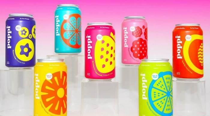 Instagram: Poppi Soda Can Lineup