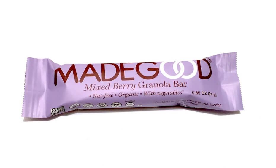 Madegood mixed berry granola bar