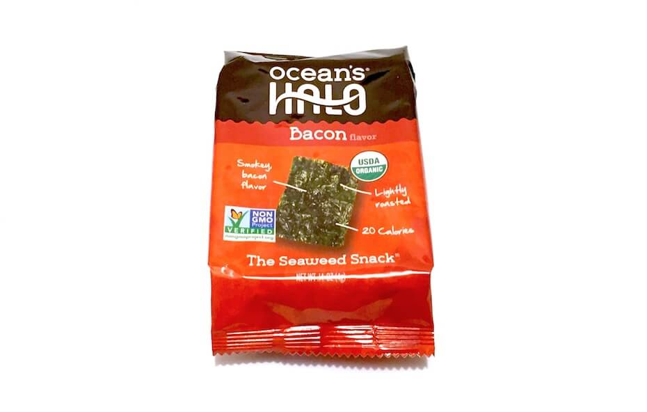 Ocean's Halo bacon flavored seaweed
