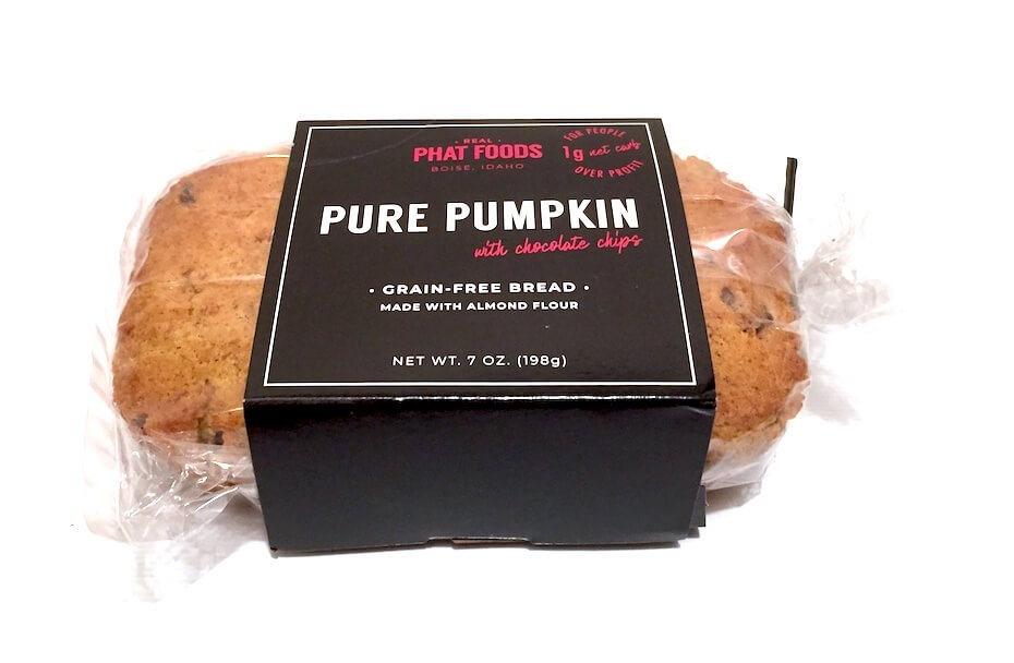 Real Phat Foods pure pumpkin with chocolate chips