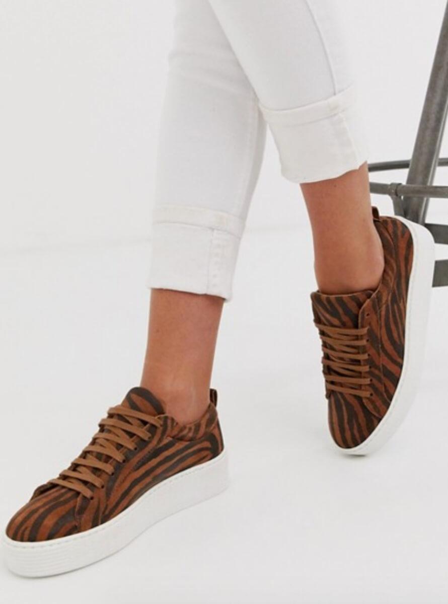 tiger print shoes