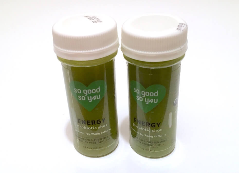 So Good so You Energy probiotic shots